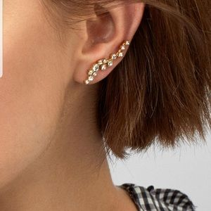 BaubleBar crawler earrings